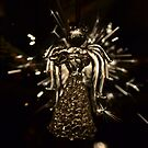 An angel landed on my Christmas tree by Cosmin Roszkos