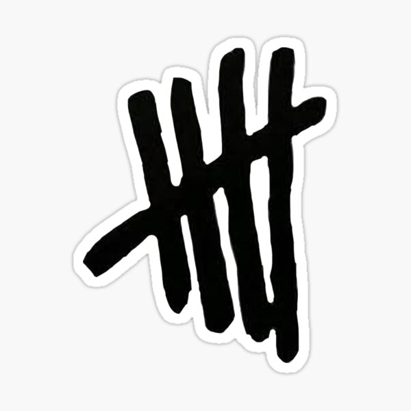 5sos tally  Sticker