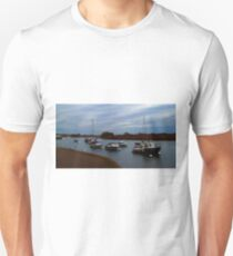 Boats on the river 2 T-Shirt