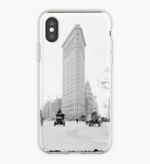 Vinilo o funda para iPhone Vintage Photograph of The NYC Flat Iron Building