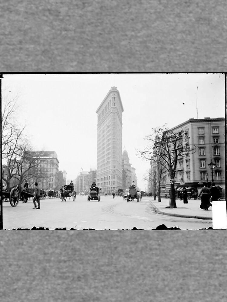 Vintage Photograph of The NYC Flat Iron Building de BravuraMedia