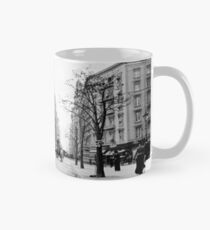 Taza Vintage Photograph of The NYC Flat Iron Building