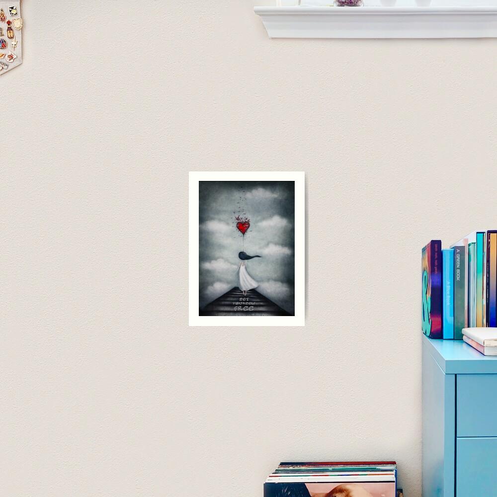 Set yourself free Art Print