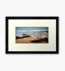Evening Waves Framed Print
