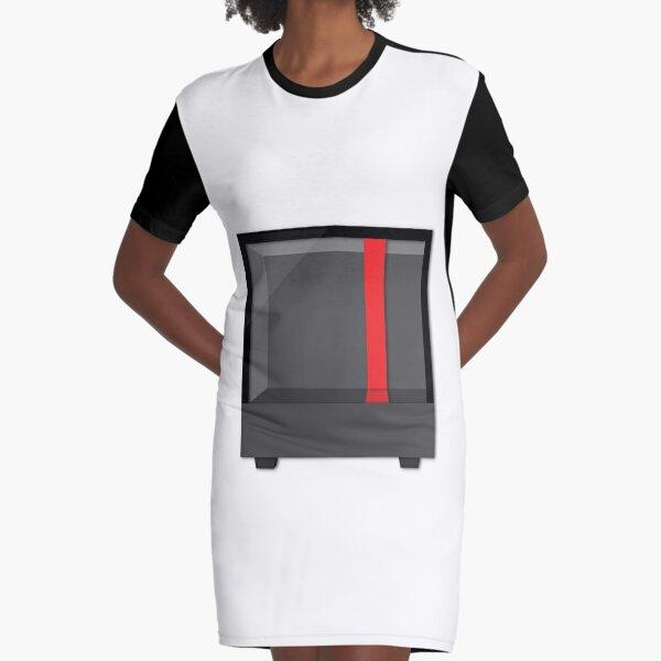 PC Case/NZXT H500 Case Graphic T-Shirt Dress