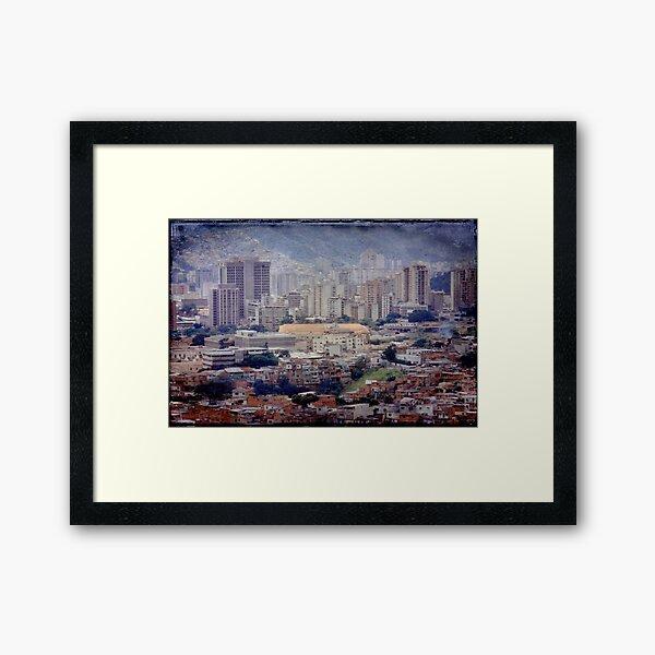 Caracas Venezuela © Framed Art Print
