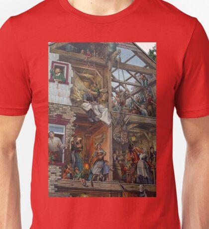Fresque du Petit-Champlain T-Shirt