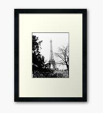 Eiffel at a distance Framed Print
