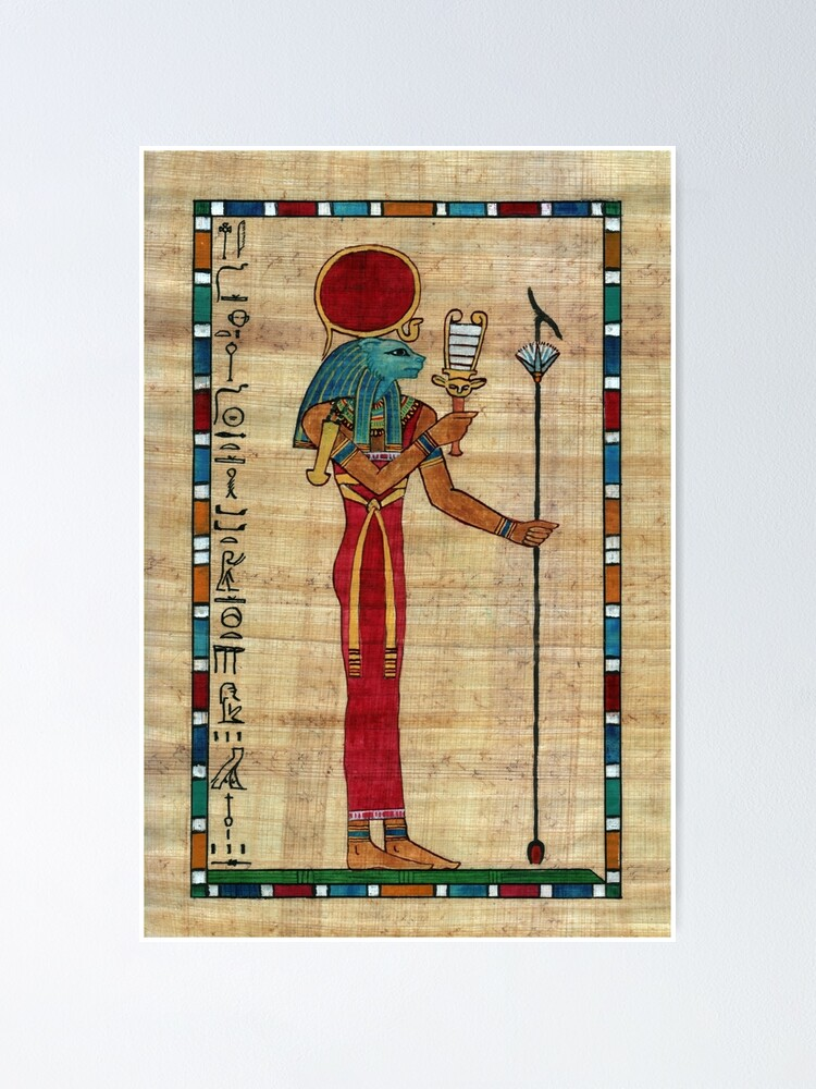 Alternate view of Sekhmet Poster