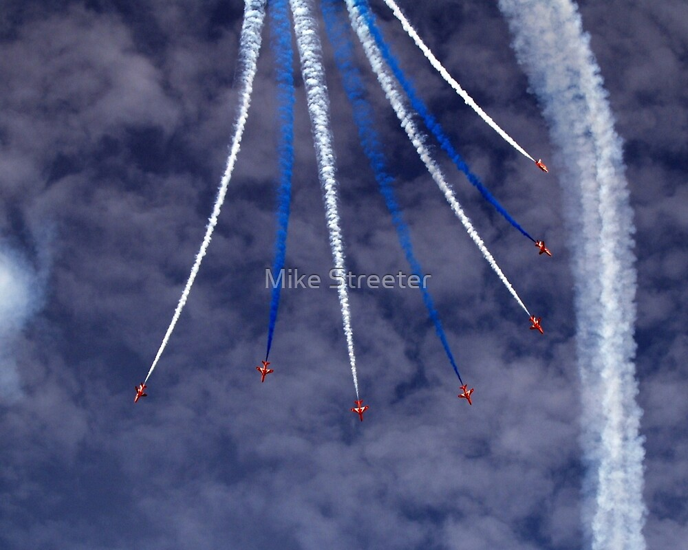 Red Arrows  by Mike Streeter