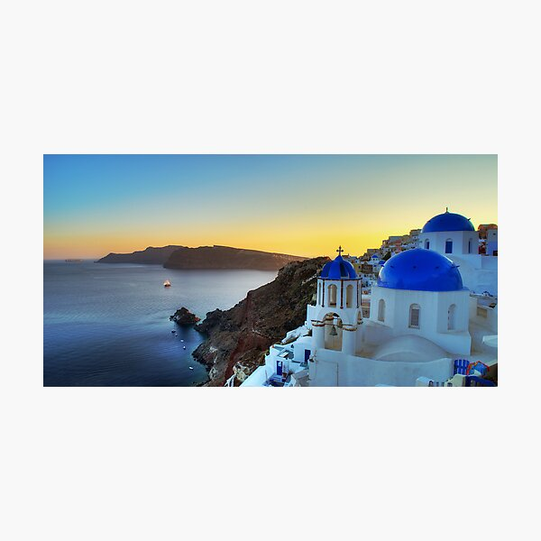 Oia Photographic Print