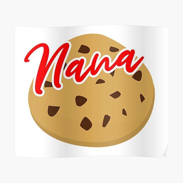 Nana Cookie Poster