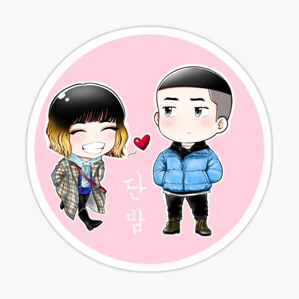 Classe Itaewon CHIBI - Park Sae Royi et Jo Yi Seo Sticker