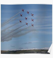 Red Arrows Diamond 9 Poster