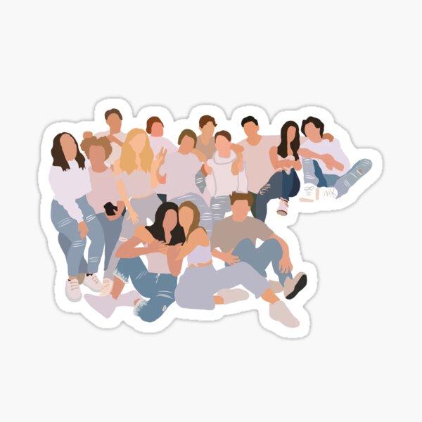 Hype house Sticker