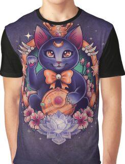Maneki Luna Graphic T-Shirt