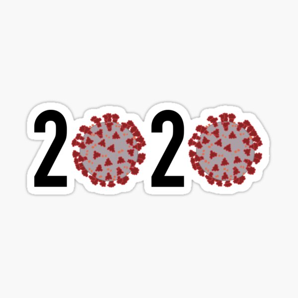 Class of (corona) 2020 Sticker