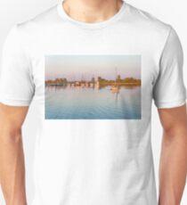 Impressions of Summer - Sailing Home at Sundown T-Shirt