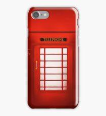 Telephone Cabine iPhone Case/Skin