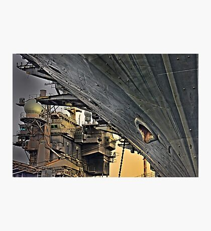Super structure USS Kitty Hawk Photographic Print