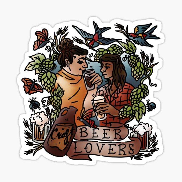 Craft Beer Lovers Sticker