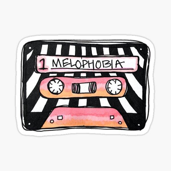 mélophobie Sticker
