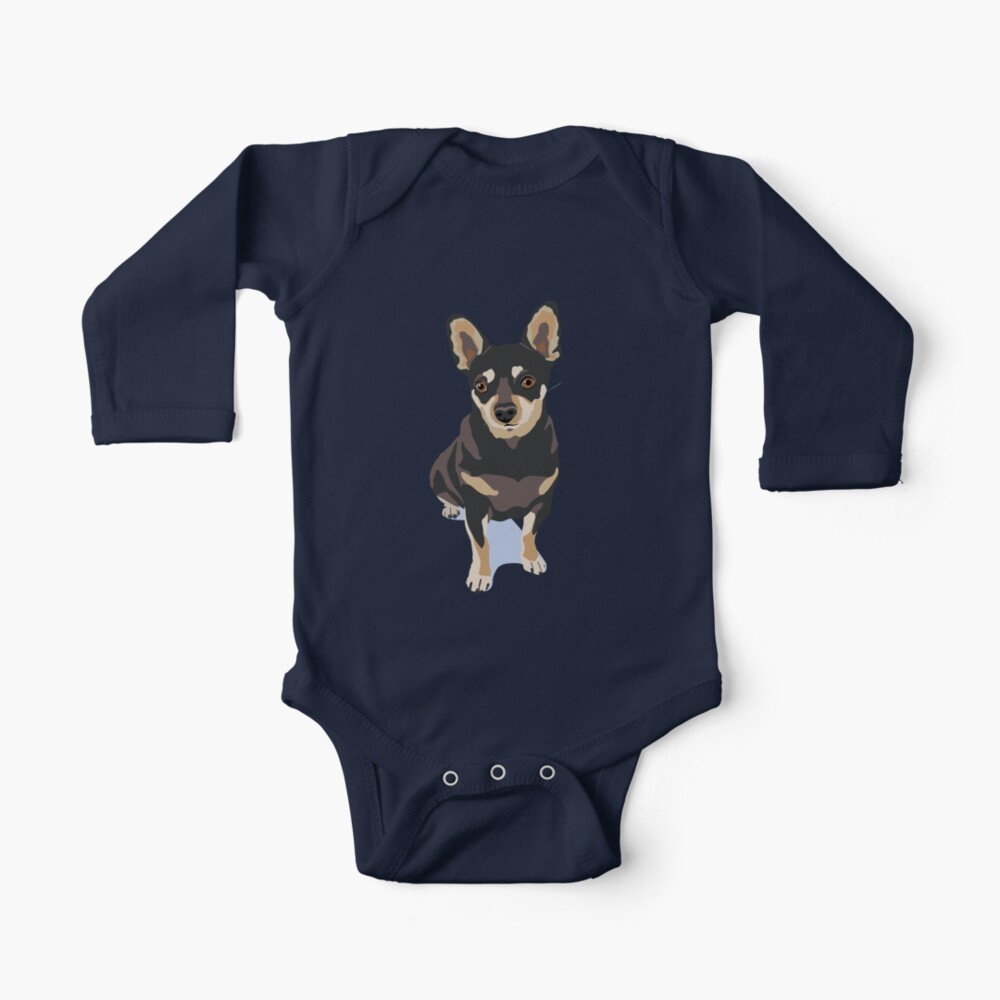 Mr. Mouse the Chihuahua Dog Baby One-Piece