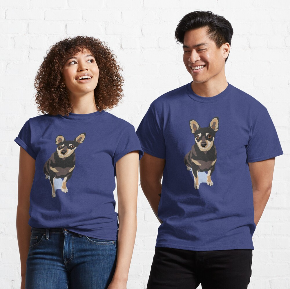 Mr. Mouse the Chihuahua Dog Classic T-Shirt
