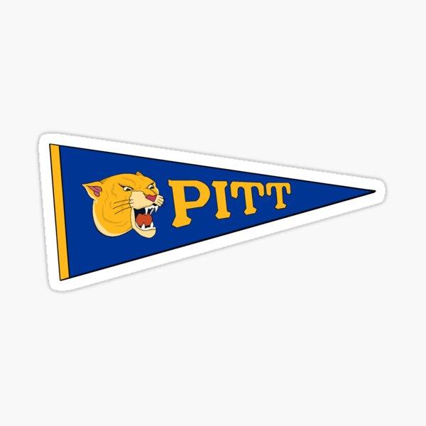Vintage Pitt Pennant Sticker