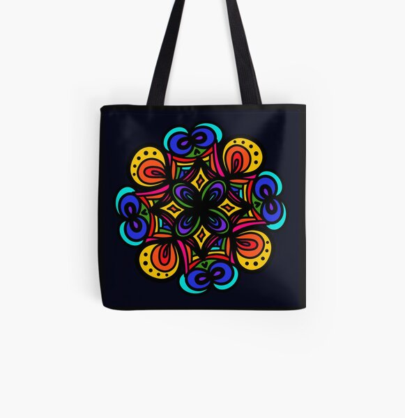infinite rainbow All Over Print Tote Bag