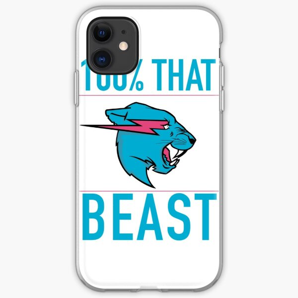 100% That BEAST iPhone Soft Case