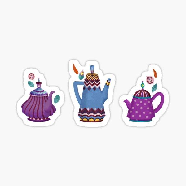 Tea Time Sticker