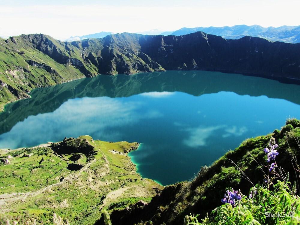 """Laguna Quilotoa - Ecuador´s Volcanic Lake"" by SlenkDee"