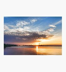 Brilliant June Sunrise - Toronto Skyline Impressions Photographic Print