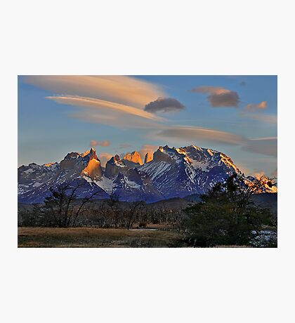 Sunset In Torres del Paine #2 Photographic Print