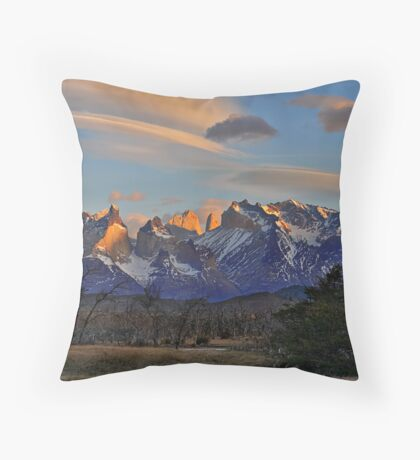 Sunset In Torres del Paine #2 Throw Pillow