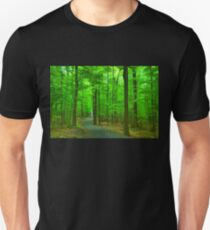 Green Trees - Impressions of Summer Forests T-Shirt