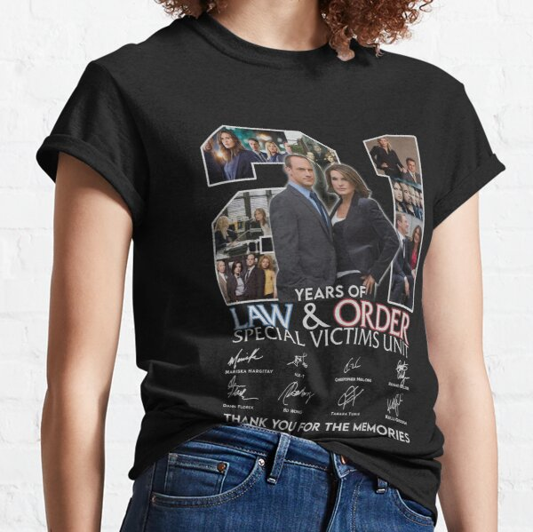 21 Years Of.Law & Order.Special Victims Unit Classic T-Shirt