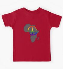 Peace in Africa T-Shirt Kids Clothes