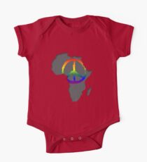 Peace in Africa T-Shirt One Piece - Short Sleeve