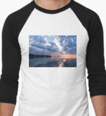 Blue Morning Zen - Toronto Skyline Impressions Men's Baseball ¾ T-Shirt