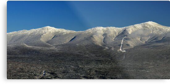 View from summit of Bretton woods ski area 3 by Anton Oparin