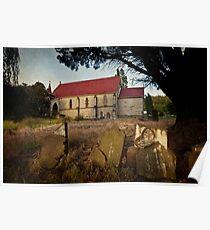 St Johns Anglican Church, Franklin, Tasmania Poster