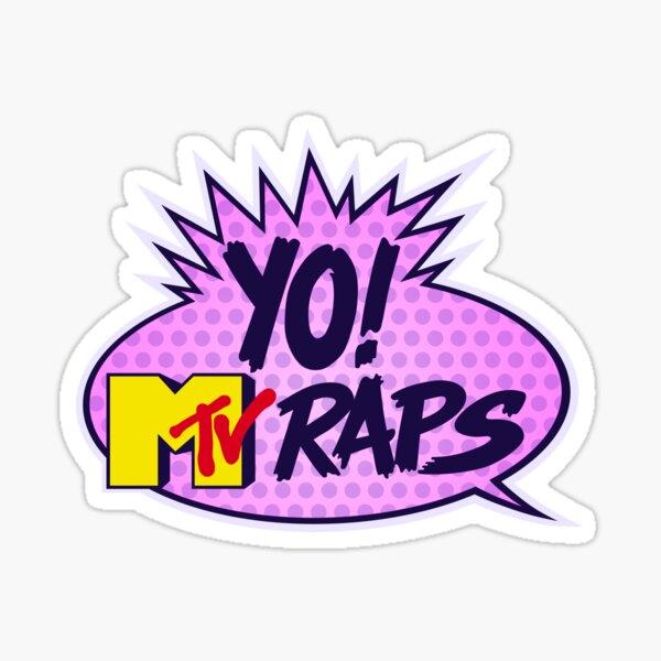 Yo! MTV Raps Sticker