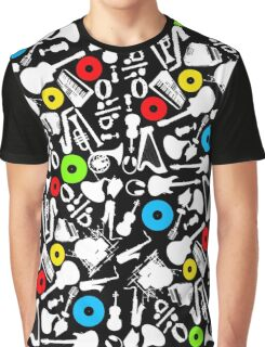 abstract music  Graphic T-Shirt