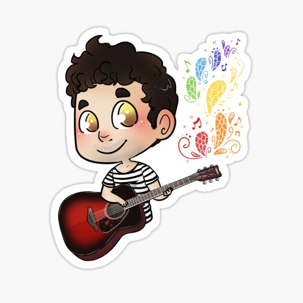 Song Colors Sticker