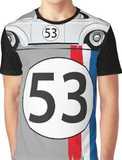 VW Beetle Herbie Graphic T-Shirt