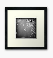 Quick! Framed Print