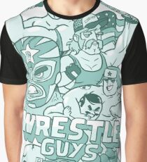 Wrestle Guys Graphic T-Shirt