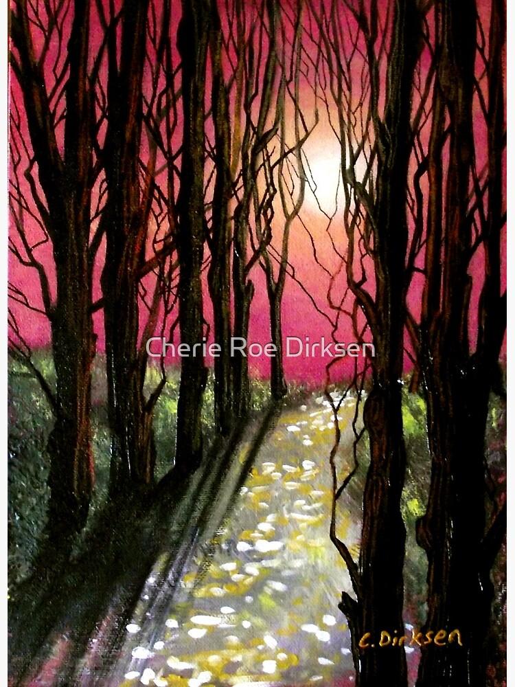 Moonlit Forest by cheriedirksen